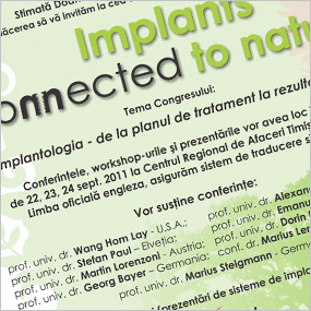 Implants Connected to Nature – 2011